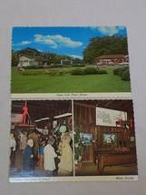 Plains State of Georgia Vintage Old Postcard Lot Historic Depot Logan Pa... - $6.99