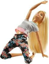 Barbie Made To Move Doll, Blonde - $21.86