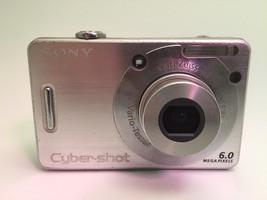 Sony Cybershot DSC-W50 Camera Silver for Parts - $9.79