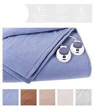 Heated Blanket. Best Heat Up Soft Micro Fleece Portable Washable Winter ... - €163,40 EUR