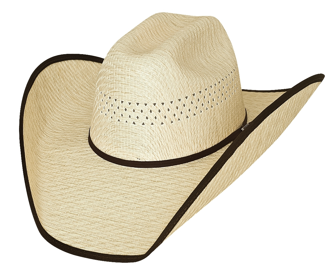 Bullhide Justin Moore Off The Beaten Path 50X Tuff Straw Cowboy Hat Natural
