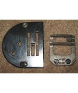 Pfaff #26833 Feed Dog & Needle Plate From 229 Machine - $12.50