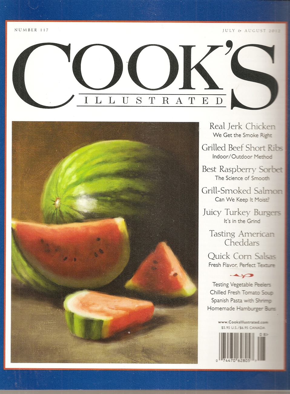 Primary image for cooks illustrated  JULY -AUGUST 2012