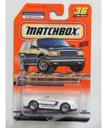 Matchbox 1999 '99 Mustang Convertible #36 of 100  - $4.99