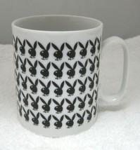 "1960 70s Playboy Bunny Bowtie Bunny Silhouette 3 1/2"" Coffee Mug Cup No ... - $29.69"