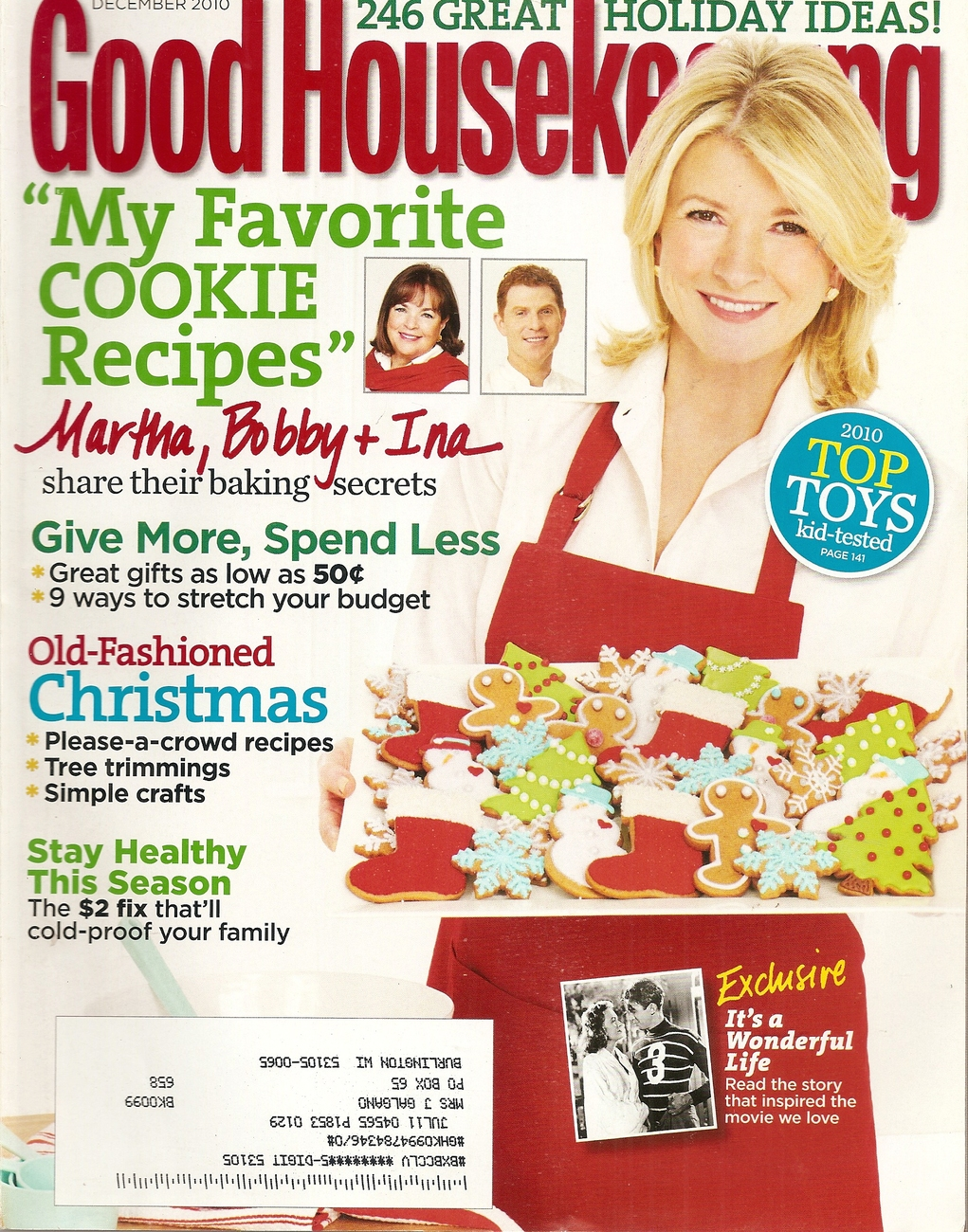 Primary image for good housekeeping DECEMBER 2010