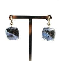 Earrings Antica Murrina Venezia Hanging with Murano Glass Gray OR529A14 image 2