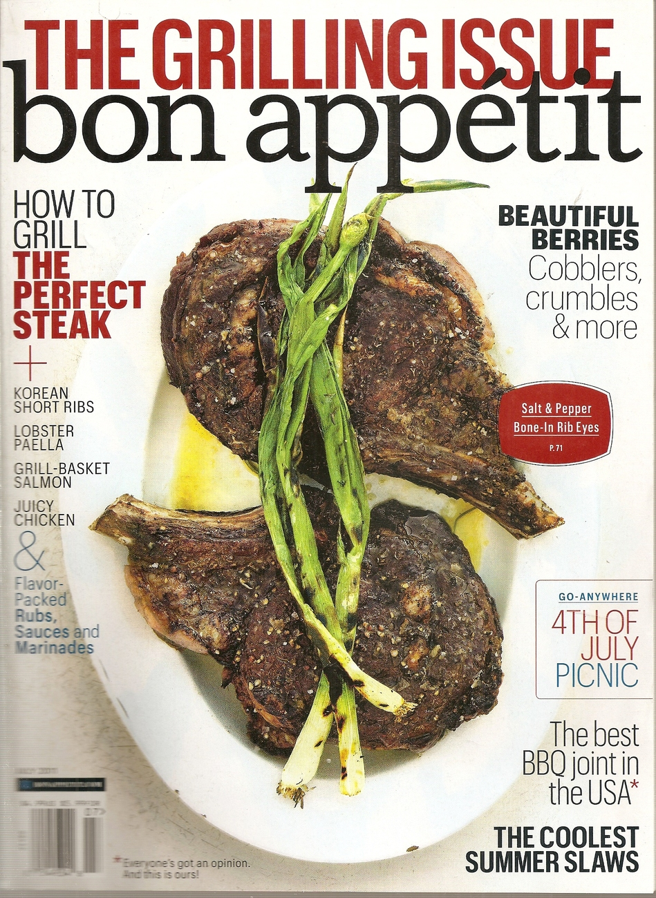 Primary image for BON APPETIT  JULY 2011