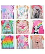Girls Nightgown XS S M L XL XXL Rainbows Sloths Unicorn Sleep Shirts U Pick - $10.99