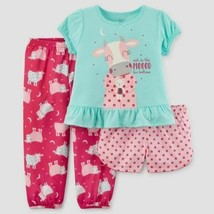 Carter's Just One You Girls Cow  3 Piece Pajamas 12M-5T  NWT - $11.19