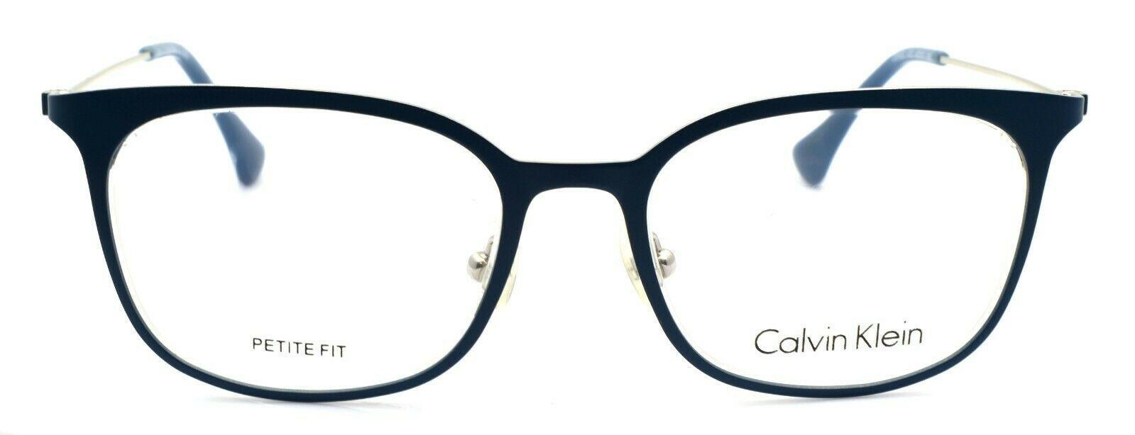 Calvin Klein CK5432 412 Women's Eyeglasses Frames PETITE 47-17-135 Blue