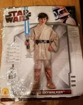 Luke Skywalker Star Wars Halloween Costume Boys Rubies  Size Small 4-6 years - $12.19