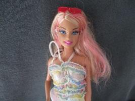 Barbie doll, Anniversary doll 1998/2009 Rainbow dress ,Mattel toys - $12.00