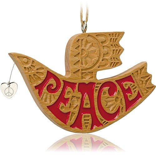 Hallmark Keepsake Ornament On Wings of Peace 2014 - $4.95