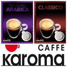 40 Italian Espresso PODS ESE.Mix Flavors.( Arabica & Napoletano)1-3Day D... - $17.81