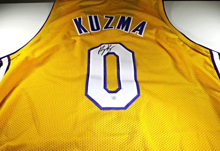 eab50dc4746 Img 6782258896 1539336183. Img 6782258896 1539336183. Previous. KYLE KUZMA  - LOS ANGELES LAKERS - HAND SIGNED LAKERS CUSTOM JERSEY ...