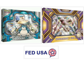 Snorlax GX Box + Kangaskhan EX Box POKEMON TCG Collection Sealed Booster Packs - $47.99