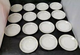 Rose China: 71 Piece Set, Joyce 2104, White w Gold Trim, Fine China, Japan image 6