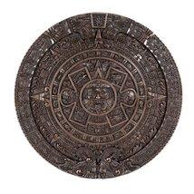 Ebros Bronzed Mexica Aztec Solar Xiuhpohualli & Tonalpohualli Wall Calen... - €44,49 EUR