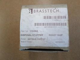 Brasstech 113/08A Garbage Disposal Stopper, Antique Copper - $30.00