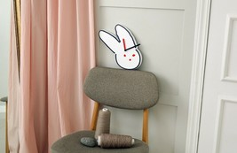 Brunch Brother Wall Clock Non-Ticking Silent Decorative Modern Clock (Rabbit) image 2