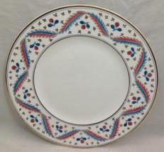 """Wedgwood Bone China, 10"""" Plate, 1900-1930 Discontinued, Orange/Turquoise - $138.59"""