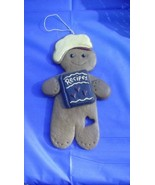 Chef Gingerbread Man Ornament - $5.00