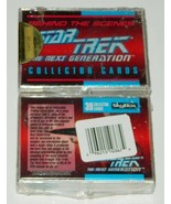 Star Trek Next Generation Behind The Scenes Trading Card Factory Set 199... - $3.25