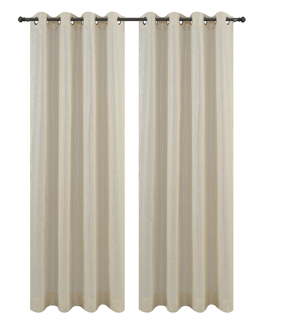 Urbanest Cosmo Set of 2 Sheer Curtain Panels w/ Grommets image 6