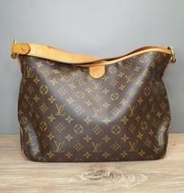 Authentic Louis Vuitton Delightful PM Monogram Canvas Handbag with Dust Bag - $1,099.61 CAD