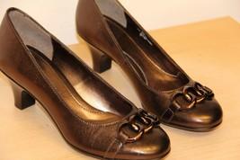 NIB Sofft MARIN Copper Leather Shoes Heels Sz 6 M Pumps Heels - $57.87