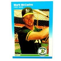 Mark McGwire 1987 Fleer Update Rookie Card #U-76 Oakland A's St. Louis Cardinals - $4.90