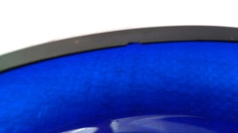 Cobalt Glass Posy / Pansy Ring Vase VERY RARE! image 6