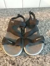 Easy Spirit Everso Black Neoprene Slingback Sandals Womens Size 8 (ml) - $17.82