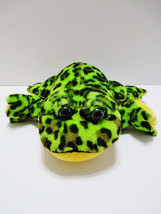 Ganz Webkinz Plush Frog Green Bullfrog HM114 Toad Stuffed Animal Toy - $15.22