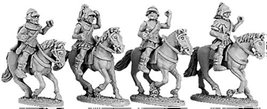 15mm Armoured Greek Cavalry w/Boiotian Helmets (4)