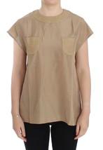 Dolce & Gabbana Beige silk blouse top - $254.47