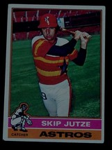 Skip Jutze, Astros  1976  #489 Topps Baseball Card, VG COND - $0.99
