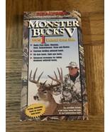 Monster Bucks V VHS - $87.88