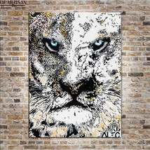 """Alec Monopoly """"TIGER, 2017"""" HD print on canvas large wall picture 36x28"""" - $29.69"""