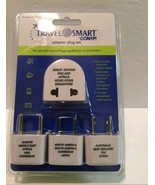 ConAir Travel Smart 4 Adapter Plug Set with Pouch--NIP - $12.99