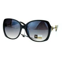 Classic Square Frame Sunglasses Womens Designer Fashion Eyewear - $7.95