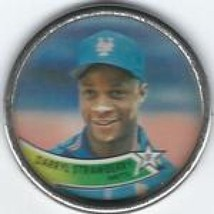 1989 Topps Coins #26 Darryl Strawberry NM Near Mint Mets - $0.75