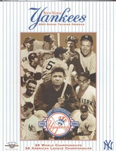 2003 New York Yankees Spring Training Magazine Program - $14.03
