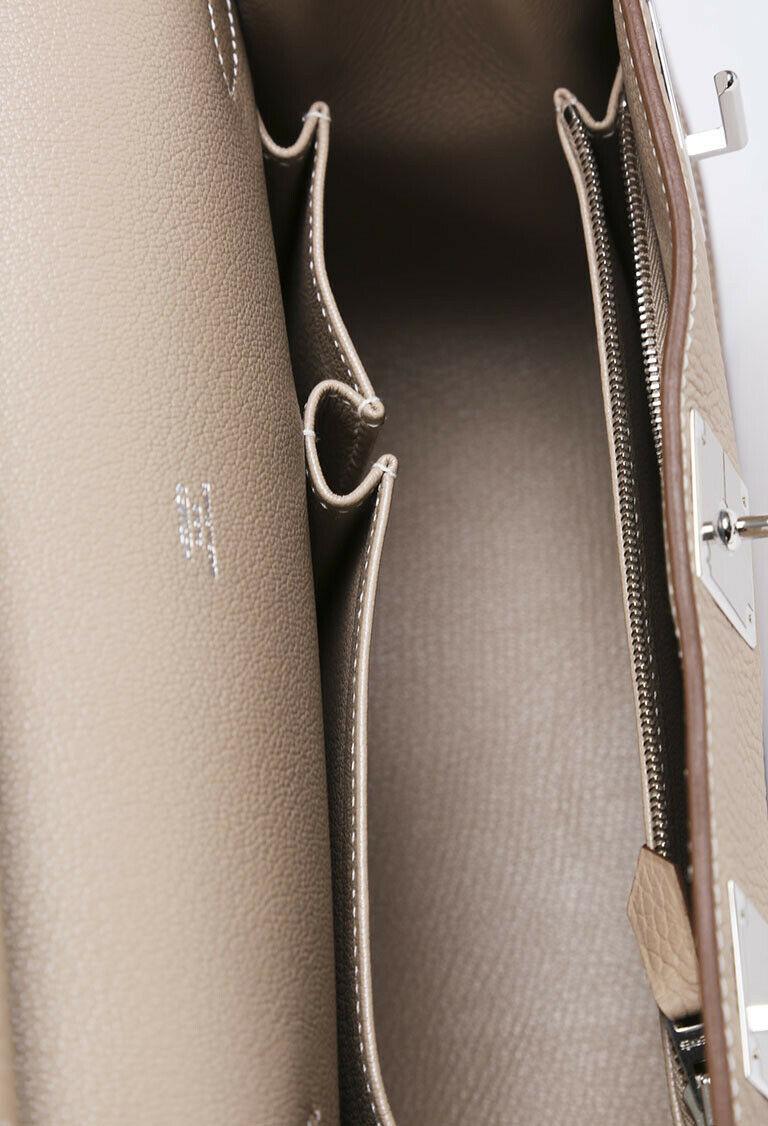 Hermes Jypsiere 28 Clemence Shoulder Bag image 5