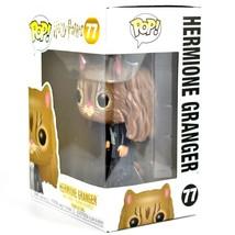 Funko Pop! Harry Potter Hermione Granger as Cat #77 Vinyl Action Figure NIB image 2