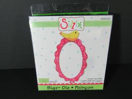 Sizzix Bigz Die - Oval Frame with Bird 655542 RETIRED - $3.96
