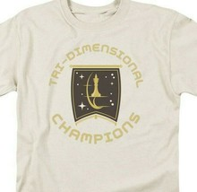 Star Trek T-shirt Tri-Dimensional Champion Episode Court Martial Graphic CBS851 image 2