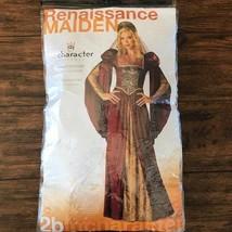 Renaissance Costume Adult Juliet Medieval Maiden Princess Queen Sz Large NEW - $42.06