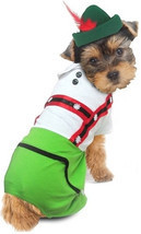 Oktoberfest Lederhosen Alpine Boy -  Dog Costume - $36.98+